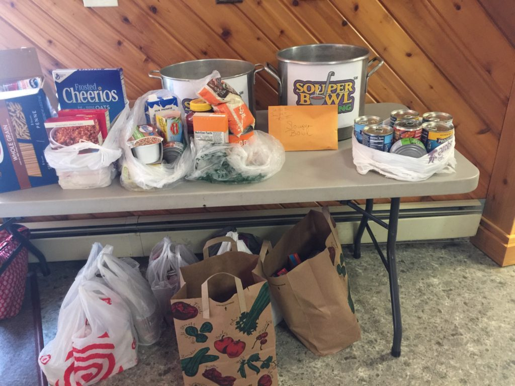 """Annual """"Souper Bowl of Caring"""" – King of Kings Lutheran Church"""
